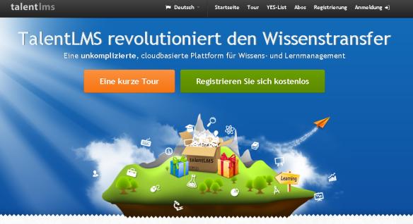 talentLMS-Startseite