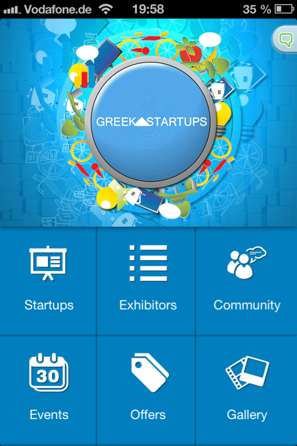 greek startup app
